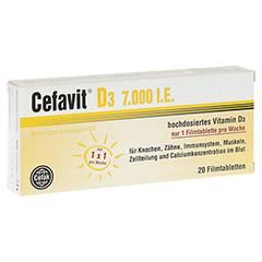 CEFAVIT D3 7.000 I.E. Filmtabletten 20 Stück