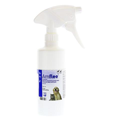 AMFLEE 2,5 mg/ml Spray Lösung f.Hunde/Katzen 500 Milliliter