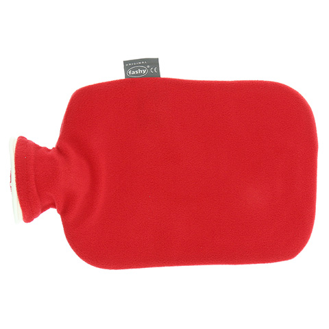 FASHY Wärmflasche m.Bezug cranberry 6530 42 1 Stück