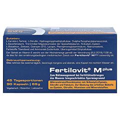 FERTILOVIT M plus Kapseln 90 Stück - Oberseite