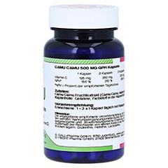 CAMU CAMU 500 mg GPH Kapseln 60 Stück - Linke Seite