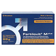 FERTILOVIT M plus Kapseln 90 Stück - Vorderseite