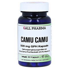 CAMU CAMU 500 mg GPH Kapseln 60 Stück