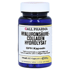 HYALURONSÄURE-COLLAGEN Hydrolysat GPH Kapseln 60 Stück