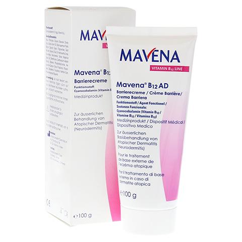MAVENA B12 AD Barrierecreme 100 Gramm