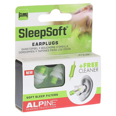 ALPINE SLEEPSOFT Ohrstöpsel 2 Stück