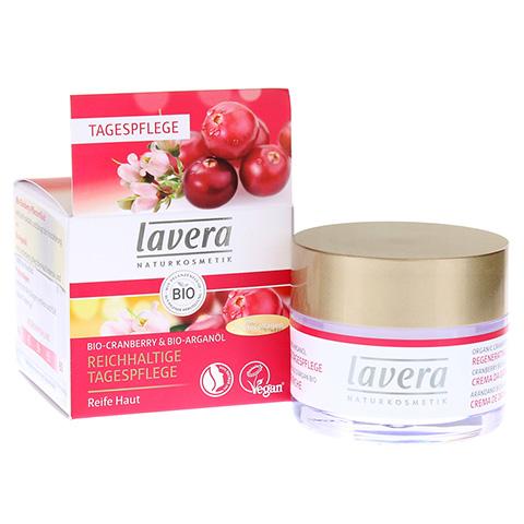 LAVERA reichhaltige Tagespflege Cranberry Creme 50 Milliliter