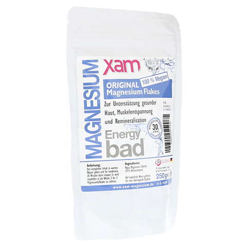 MAGNESIUM FLAKES xam original Bad 250 Gramm