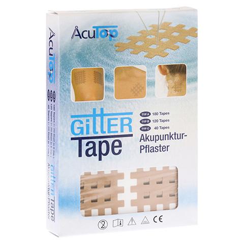 GITTER Tape AcuTop 3x4 cm 20x6 Stück