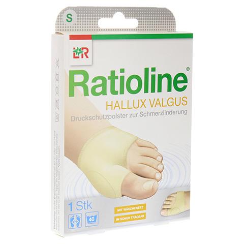RATIOLINE Hallux valgus Druckschutzpolster Gr.S 1 Stück