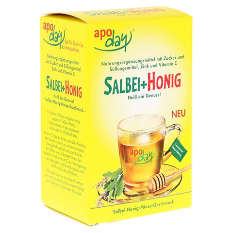 APODAY heißer Salbei+Honig+Vit.C+Zink Pulver 10x10 Gramm
