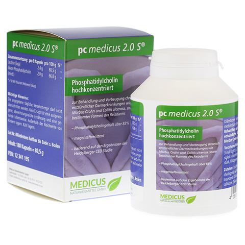 PC MEDICUS 2.0S magensaftresistente Kapseln 180 Stück