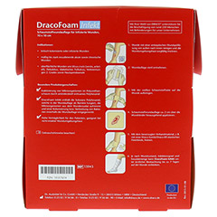 DRACOFOAM Infekt Schaumst.Wundauf.10x10 cm 10 Stück - Rückseite