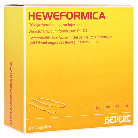 HEWEFORMICA Ampullen 100 Stück N3