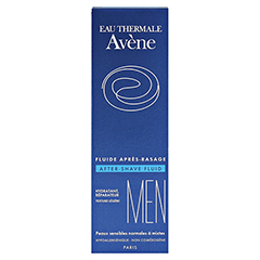 AVENE MEN After-Shave Fluid 75 Milliliter - Rückseite