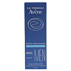 AVENE MEN After-Shave Balsam 75 Milliliter - Rückseite