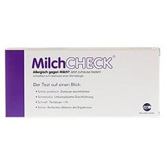 MILCH CHECK Test 1 Stück - Rückseite