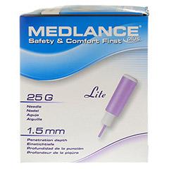 MEDLANCE plus Lite Sicherheitslanzetten 25 G 200 Stück - Rückseite