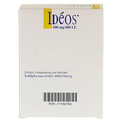 Ideos 500mg/400I.E. 90 Stück - Rückseite
