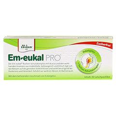 EM EUKAL PRO Halspastillen Eukalyptus zuckerfrei 30 Stück - Rückseite