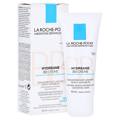 ROCHE-POSAY Hydreane BB Creme hell 40 Milliliter