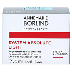 BÖRLIND system absolute Nachtcreme light 50 Milliliter - Vorderseite