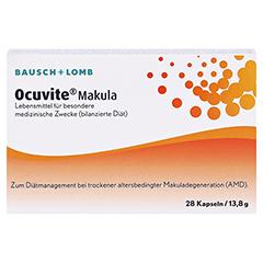 OCUVITE Makula Kapseln 28 Stück - Vorderseite