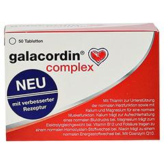 GALACORDIN complex Tabletten 50 Stück - Vorderseite