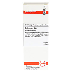 HELLEBORUS D 6 Dilution 50 Milliliter N1 - Vorderseite