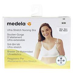 MEDELA Schwangerschafts- u.Still-BH M weiß 1 Stück - Vorderseite