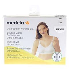 MEDELA Schwangerschafts- u.Still-BH L weiß 1 Stück - Vorderseite