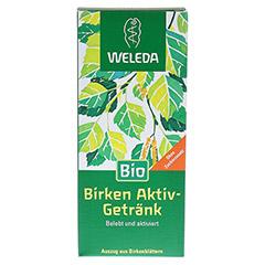 WELEDA Birken Aktiv-Getränk 200 Milliliter - Vorderseite