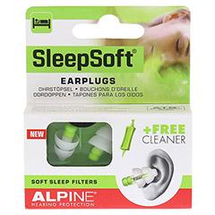 ALPINE SLEEPSOFT Ohrstöpsel 2 Stück - Vorderseite