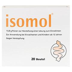 ISOMOL Plv.z.Herst.einer Lösung zum Einnehmen 20 Stück - Vorderseite