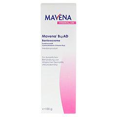 MAVENA B12 AD Barrierecreme 100 Gramm - Vorderseite
