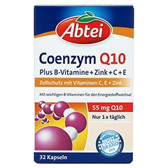 ABTEI Coenzym Q10 Plus Kapseln 32 Stück - Vorderseite