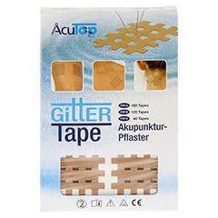 GITTER Tape AcuTop 3x4 cm 20x6 Stück - Vorderseite