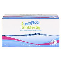 MOVICOL trinkfertig 25 ml Beutel Lsg.z.Einnehmen 10 Stück - Vorderseite