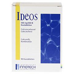 Ideos 500mg/400I.E. 90 Stück - Vorderseite