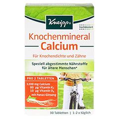 KNEIPP Knochenmineral Calcium Tabletten 30 Stück - Vorderseite