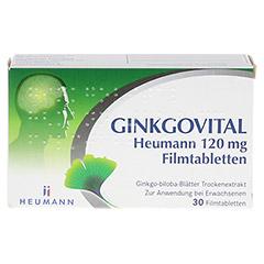 GINKGOVITAL Heumann 120mg 30 Stück N1 - Vorderseite