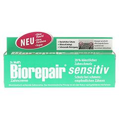 BIOREPAIR Zahncreme sensitiv 75 Milliliter - Vorderseite