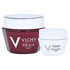 Vichy Idealia Gel-Balsam für die Nacht + gratis Neovadiol Nacht 15 ml 50 Milliliter