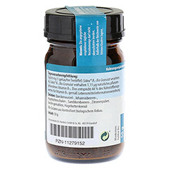 SIDEA B12 Bio Granulat 50 Gramm - Linke Seite