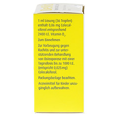 DEVIT Tropfen 2400 I.E./ml Tropfen zum Einnehmen 10 Milliliter N1 - Linke Seite
