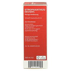 STROPHANTHUS HEVERT Tropfen 100 Milliliter N2 - Linke Seite