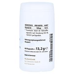MENACHINON Vitamin K2 100 µg Kapseln 60 Stück - Linke Seite