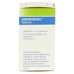 SINFRONTAL Tabletten 100 Stück N1 - Linke Seite