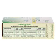 VEGGIE Depot Vitamine+Mineralstoffe Tabletten 60 Stück - Rechte Seite