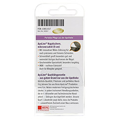 APOLINE Nagelschere microverzahnt INOX rostfrei 1 Stück - Rückseite